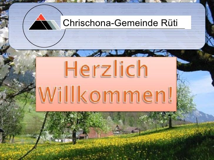 Chrischona-Gemeinde Rüti