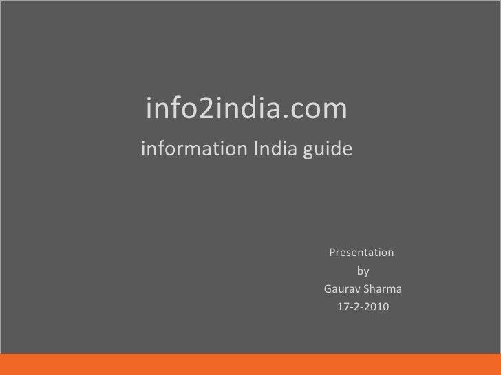 Info2india