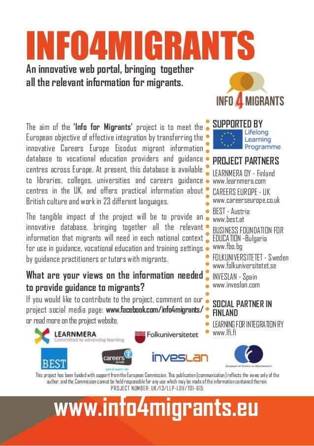 Info4 migrants flyer Educa 2014 1