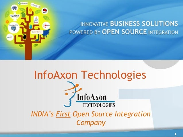 InfoAxon Technologies 1 INDIA's First Open Source Integration Company