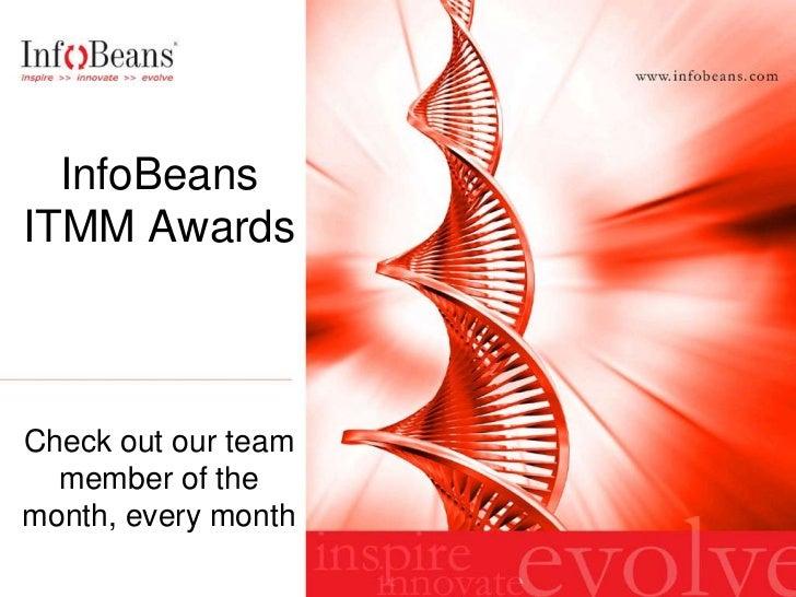 InfoBeans Team Member Of The Month Award Roster