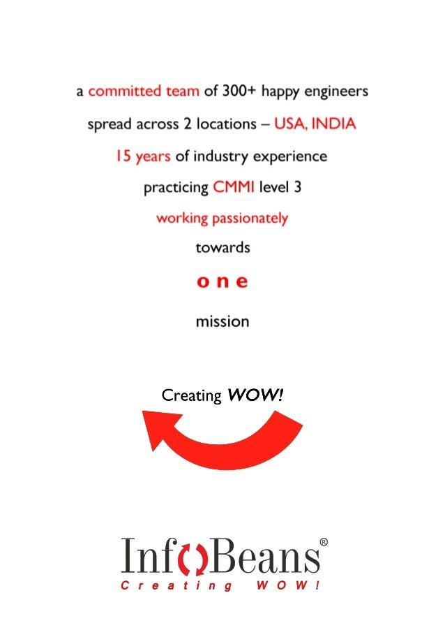 InfoBeans corporate flyer