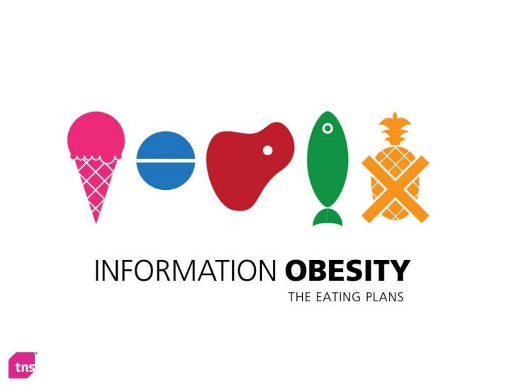 Information Obesity, The Eating Plans (a new campaign from TNS UK)