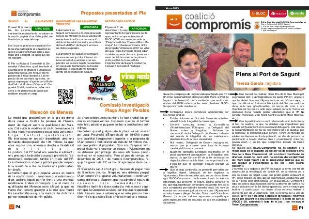 febrer2013                                                                              Propostes presentades al PleSANCIÓ...