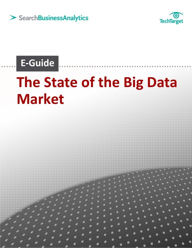 The State of the Big DataMarket
