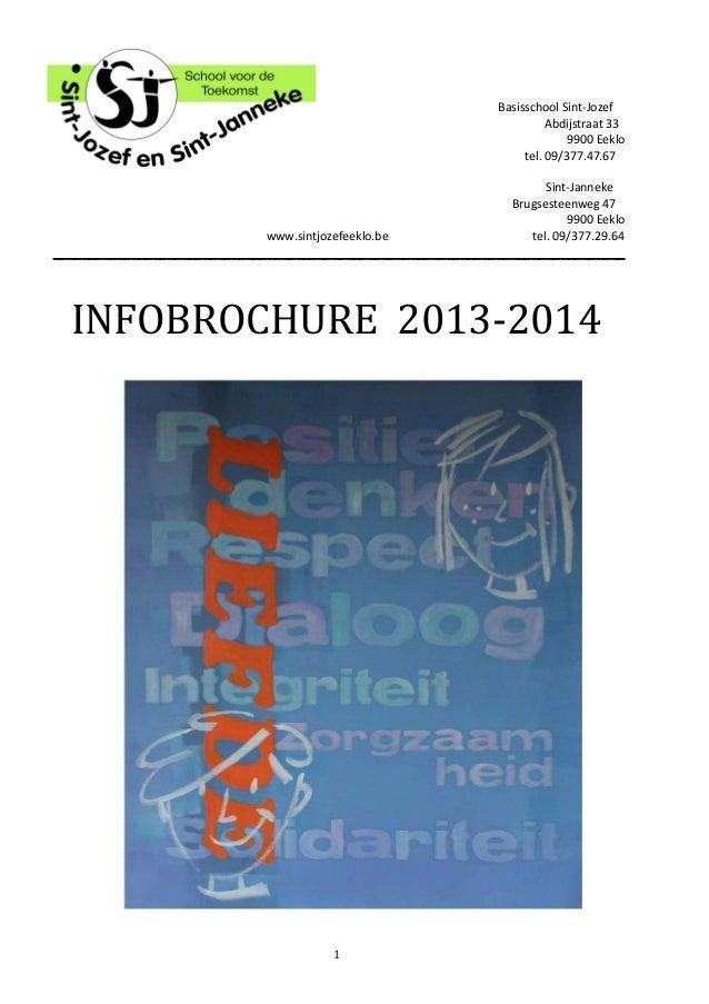 Infobrochure 2013 - 2014