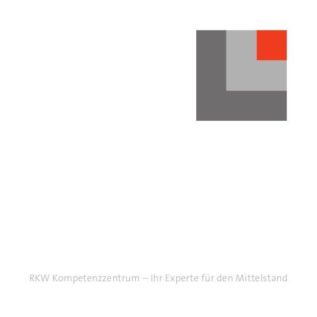 RKW Kompetenzzentrum – Ihr Experte für den Mittelstand