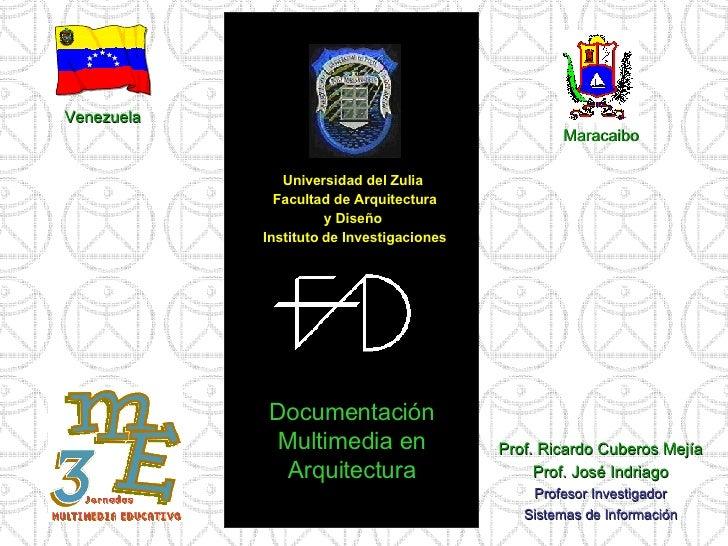 Documentación multimedia en arquitectura