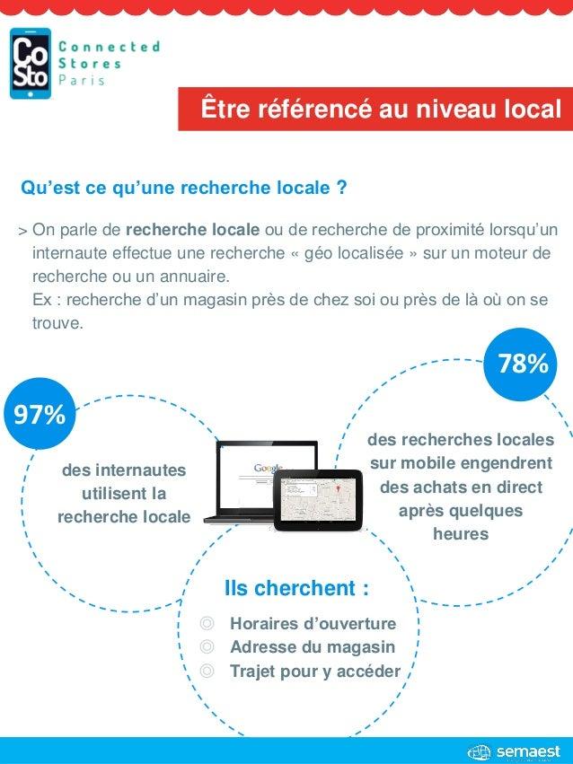 des internautes utilisent la recherche locale des recherches locales sur mobile engendrent des achats en direct après quel...