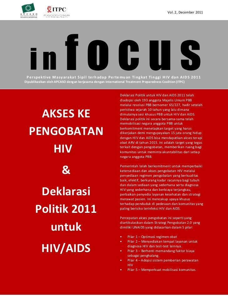 Vol. 2, December 2011   in                     focus Perspektive M asy araka t Sipil terhadap Perte muan Tingkat Tin ggi H...