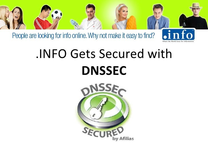 .Info Gets signed with DNSSEC