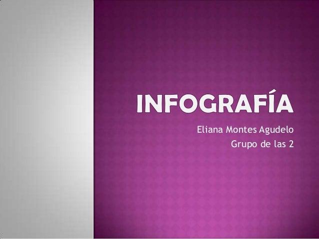 Eliana Montes Agudelo        Grupo de las 2