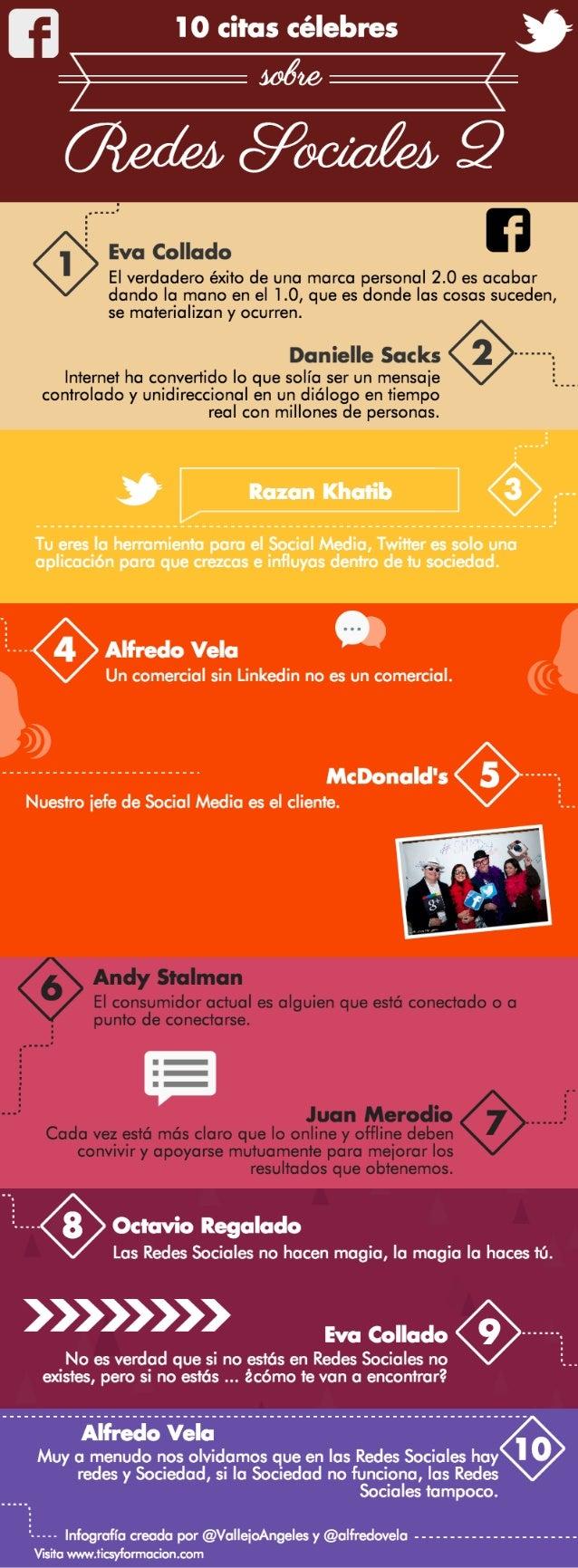 10 citas célebres sobre Redes Sociales II
