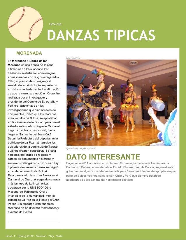 UCVCIS                                 DANZAS TIPICAS  MORENADA                                                ...