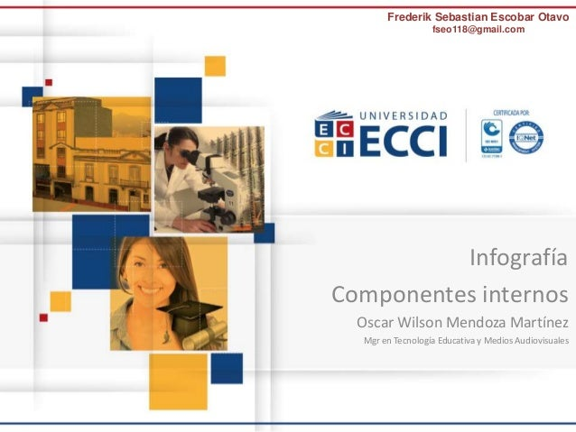 Frederik Sebastian Escobar Otavo  fseo118@gmail.com  Infografía  Componentes internos  Oscar Wilson Mendoza Martínez  Mgr ...
