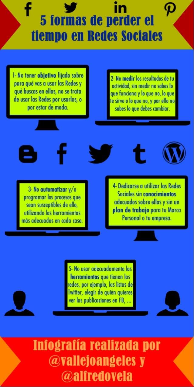 5 formas de perder el tiempo en Redes Sociales