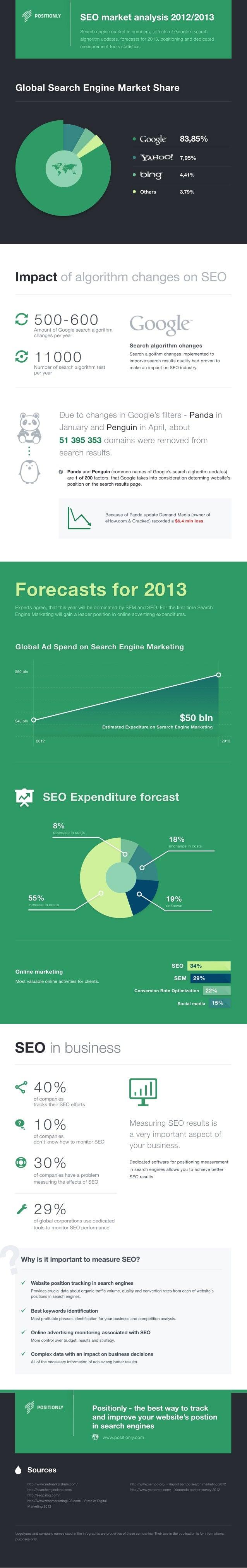 SEO Market Analysis 2013