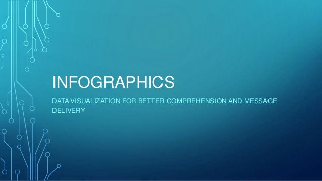 INFOGRAPHICS DATA VISUALIZATION FOR BETTER COMPREHENSION AND MESSAGE DELIVERY