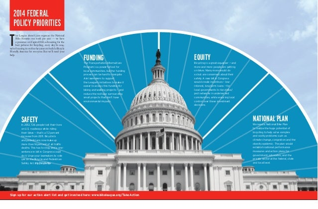 League of American Bicyclists 2014 Federal Priorities