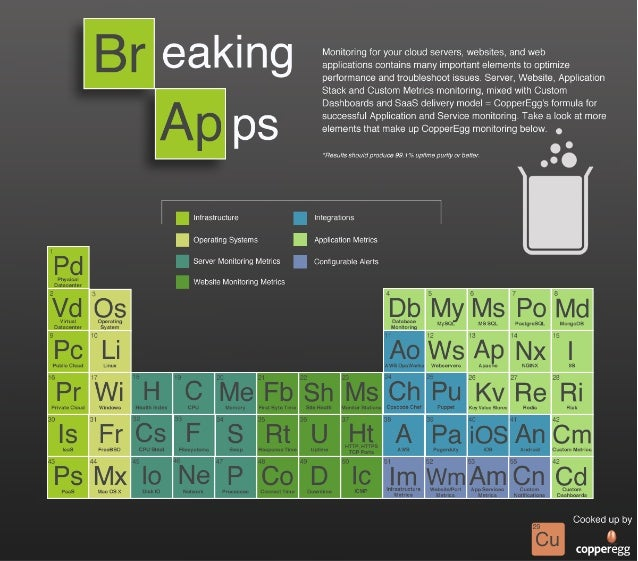 Infographic - Essential Elements for Server and Web Monitoring