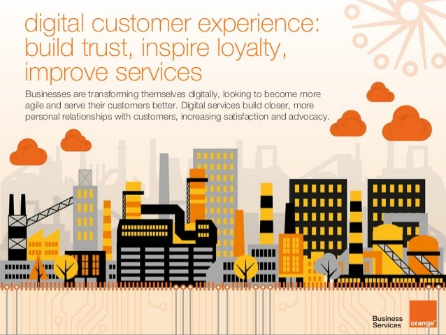 [Infographic] digital customer experience