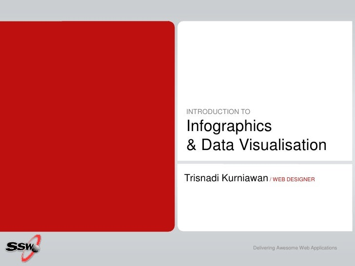INTRODUCTION TOInfographics& Data Visualisation<br />TrisnadiKurniawan / WEB DESIGNER<br />Delivering Awesome Web Applicat...