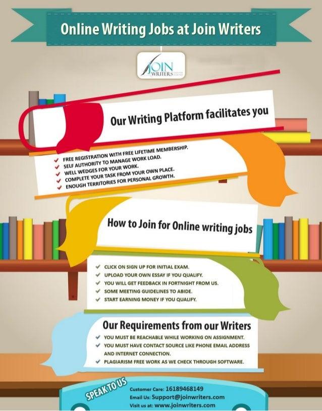 online essay writting jobs