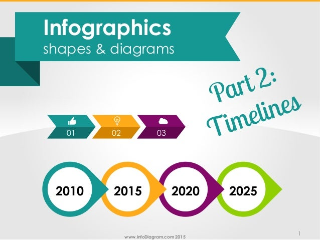 Infographic shapes