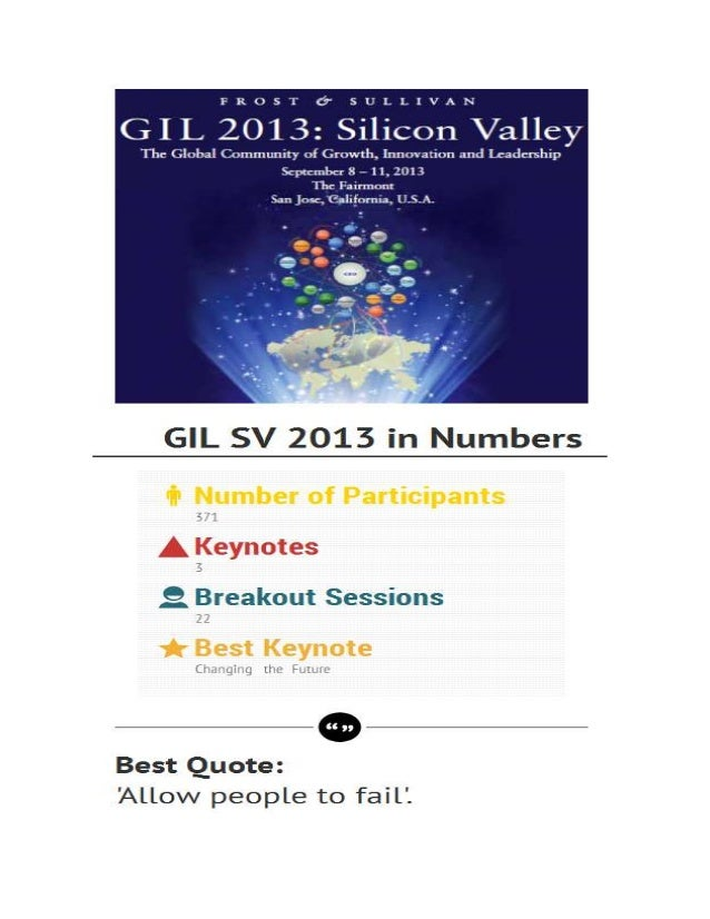 Infographics GIL 2013 Silicon Valley