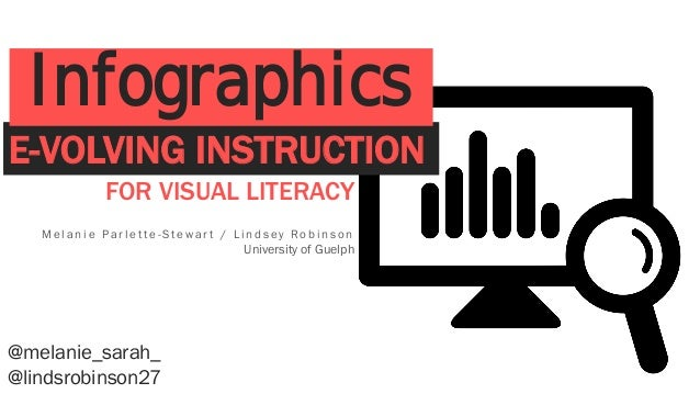 FOR VISUAL LITERACY M e l a n i e P a r l e t t e - S t e w a r t / L i n d s e y R o b i n s o n University of Guelph @me...