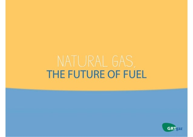 Natural gas, the future of fuel