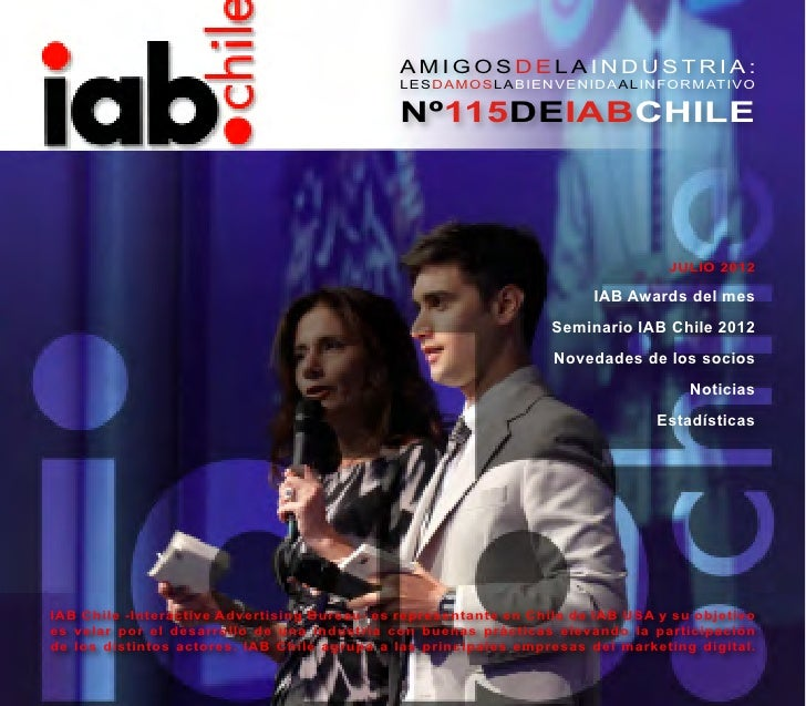 Informativo IAB Chile Julio 2012
