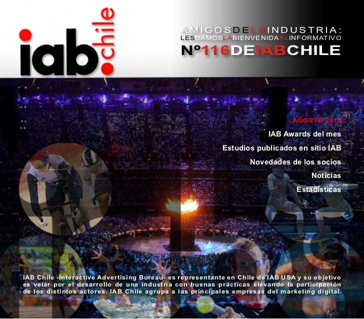 Informativo IAB Chile Agosto 2012