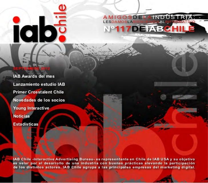 Informativo IAB Chile Septiembre 2012