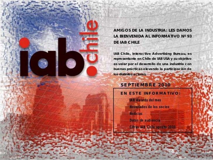 Informativo IAB Chile Septiembre 2010