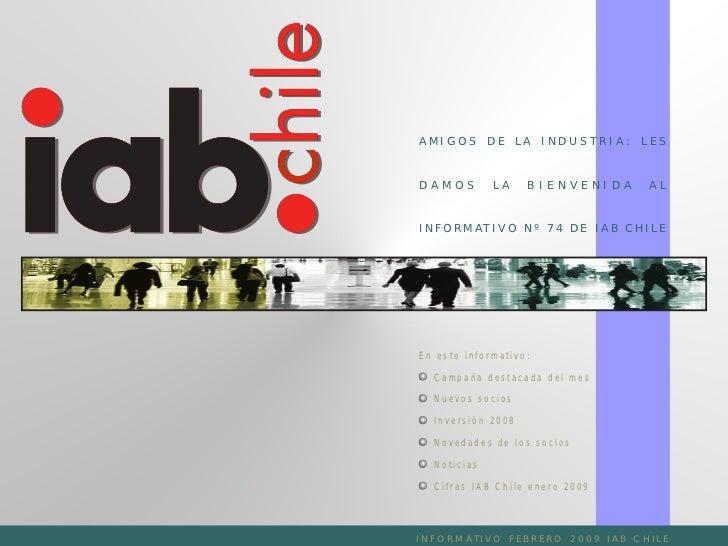 Informativo IAB Chile Febrero 2009