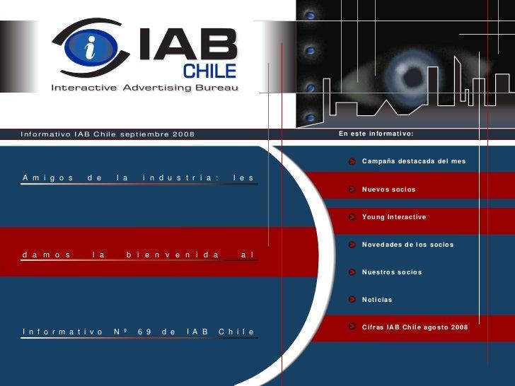 Informativo IAB Chile Julio 2008