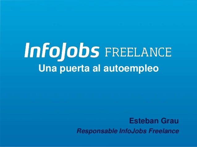 Infojobs Freelance: una puerta al autoempleo