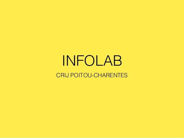 INFOLAB CRIJ POITOU-CHARENTES