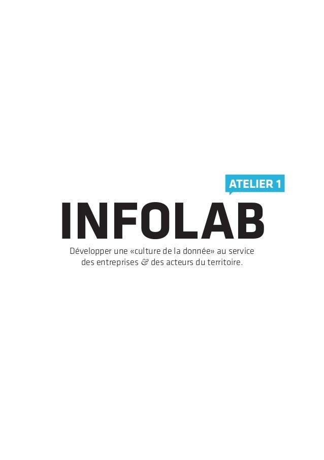 INFOLABDévelopper une «culture de la donnée» au servicedes entreprises & des acteurs du territoire.ATELIER 1
