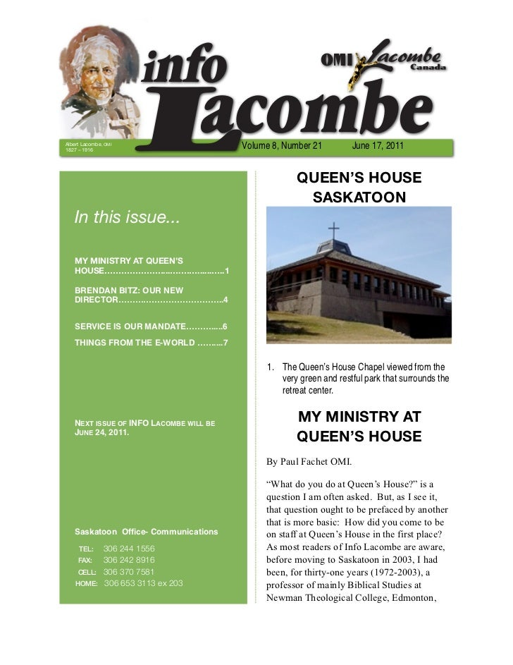 INFO Lacombe - June 17 2011