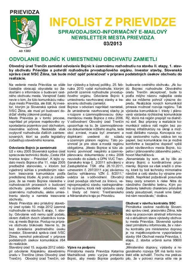 Infolist 3-2013
