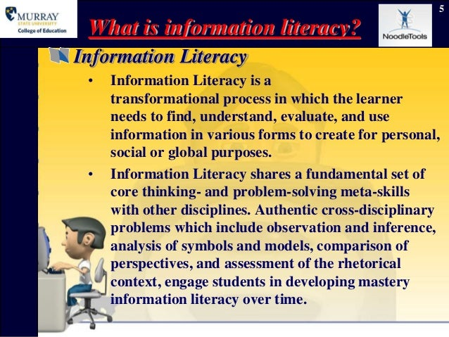 Information Literacy Essays (Examples)
