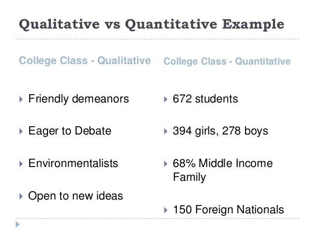 Qualitative Vs Quantitative Worksheet 54868 | TIMEHD
