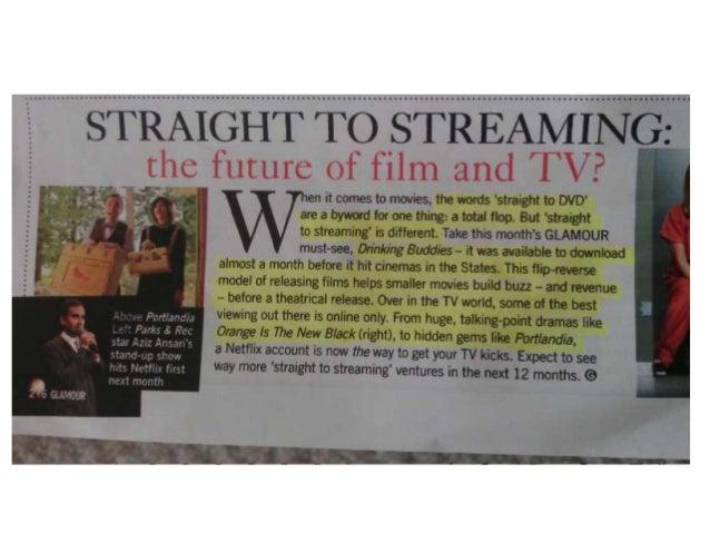 Info on streaming film
