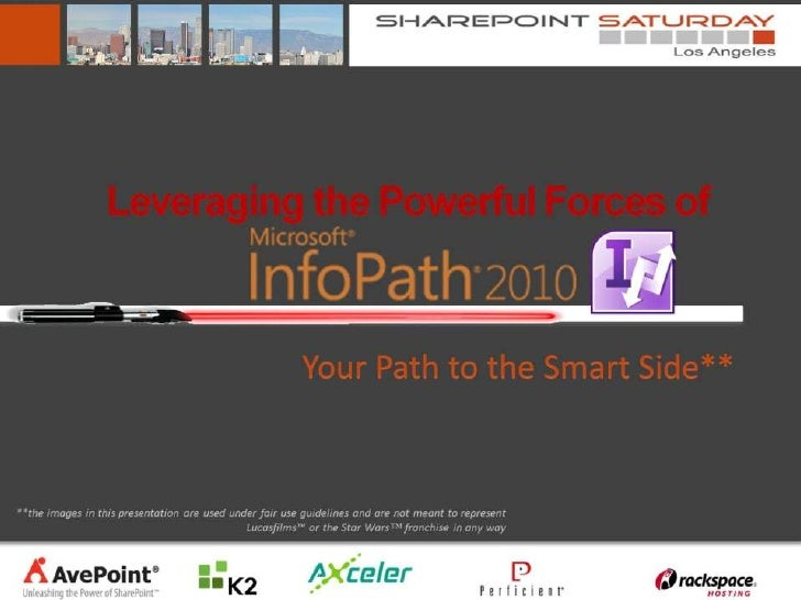 Info path - your path to the smart side