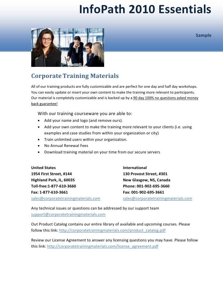 InfoPath 2010 Essentials                                                                                                  ...
