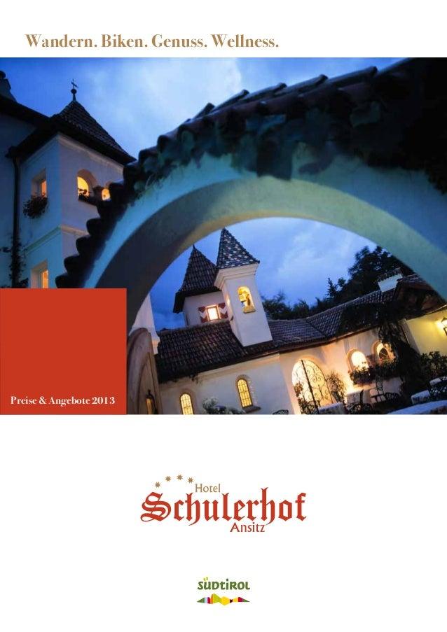 Familienhotel Schulerhof Porspekt 2013