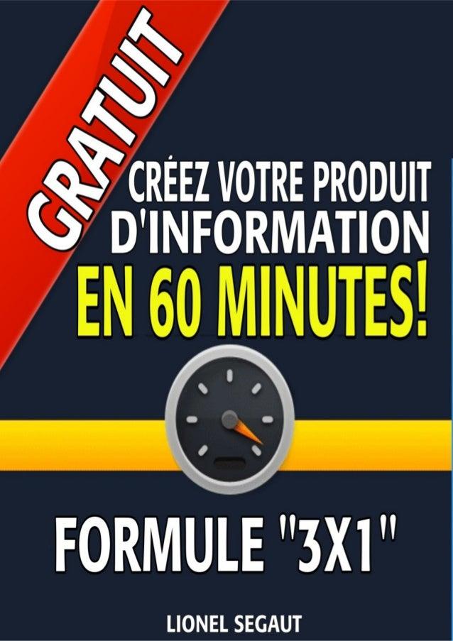 Besoin de créer un produit à 97 ou 697 € - Cliquez ici pour le faire en 48 heures... 1
