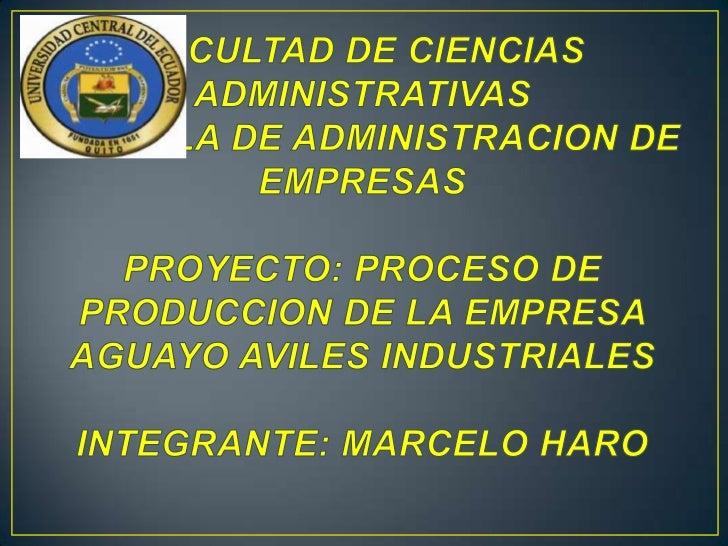 ser líder en su campo, expandirse en elmercado Ecuatoriano, crecer en su infraestructura con laconstrucción de una nueva p...